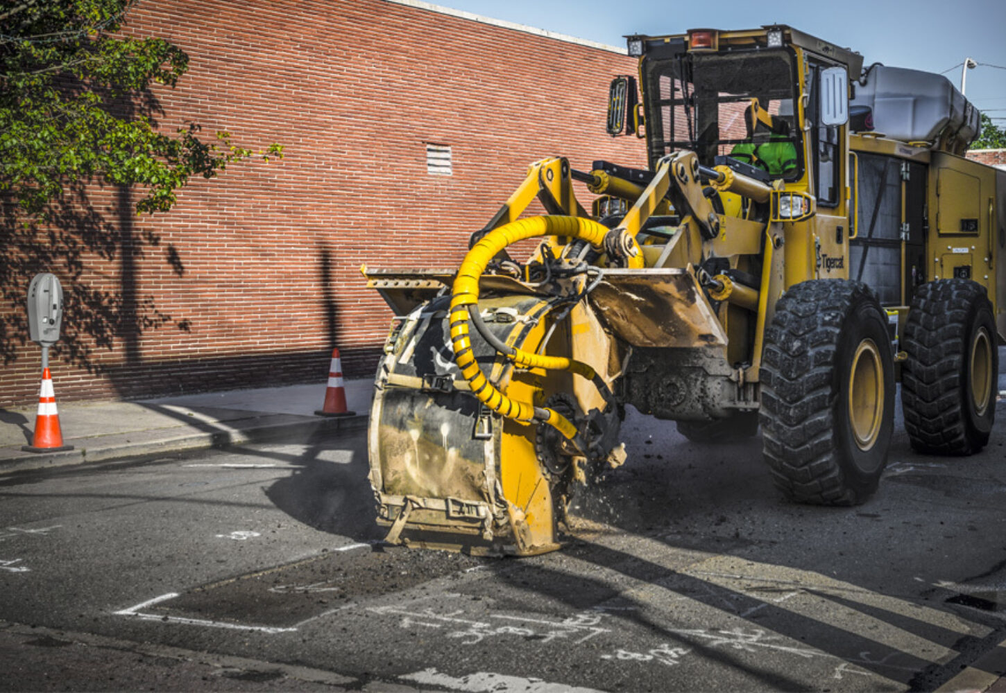 Hero street works trencher clients