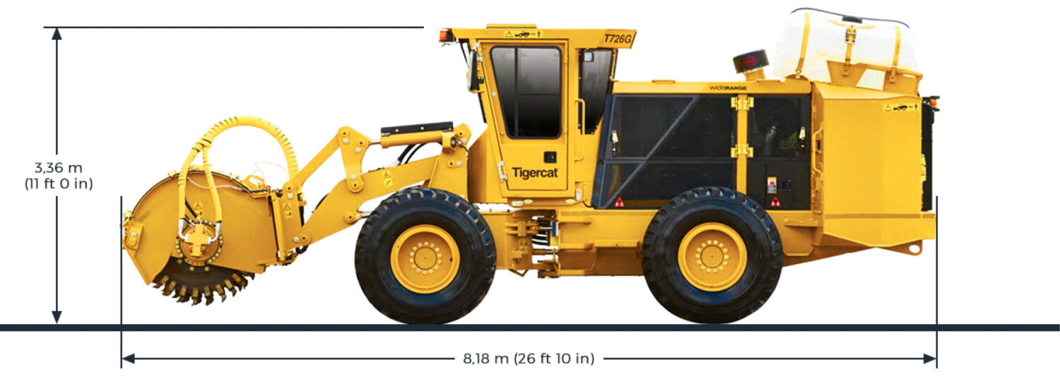 Hero street works trencher specifications 2