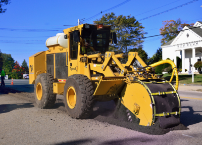 Street works trencher 01