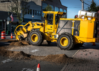 Street works trencher 02