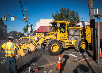 Street works trencher 04
