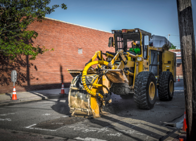 Street works trencher 05