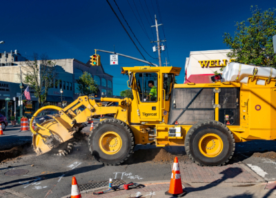 Street works trencher 07