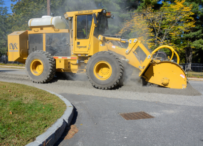Street works trencher 09