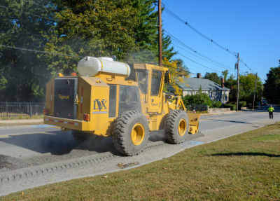 Street works trencher 10