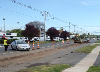 Street works trencher 13