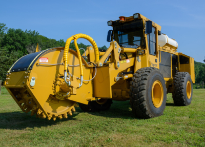Street works trencher 14