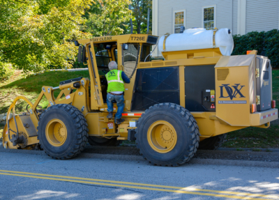 Street works trencher 17