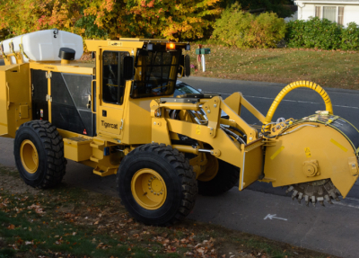 Street works trencher 18