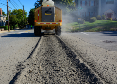 Street works trencher 21